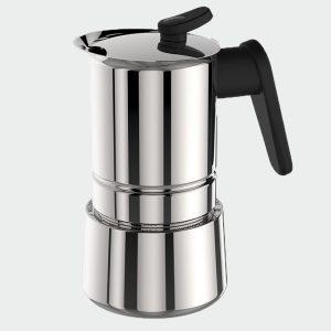 CAFFET-ACCİAİO 4 CUP - MOKA POT