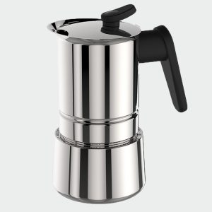 CAFFET-ACCİAİO 2 CUP - MOKA POT